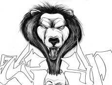 043 - You Cant Tame The Lion Once It Breaks Out The Cage