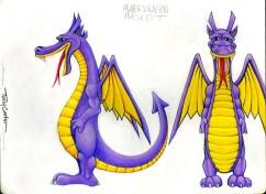 054 - Palmer Dragon Mascot