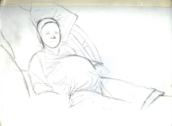 14 - Chrissy, Hours B4 She Gave Birth 2 Zach - Pencil