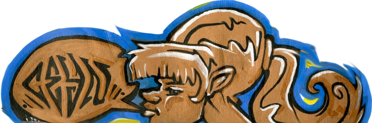 2008 - Ceyn Girl - paint marker