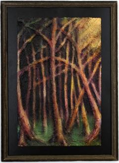 2008 - Divergence - Molding Paste, Acrylic, Spray Paint, Airbrush, Paintmarker
