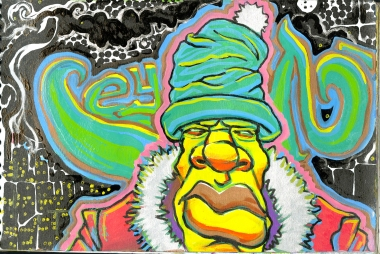 2008 - Im just ceyn its cold outside - Paintmarker