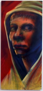 2008 - Self Portrait in Red - Spray Paint