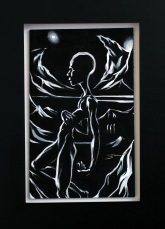 2008 - Travel By Night - Acrylic & Paintmarker on Wood
