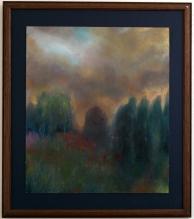 2009 - Pilgrimage - Acrylic, Oil Pastel on Panel