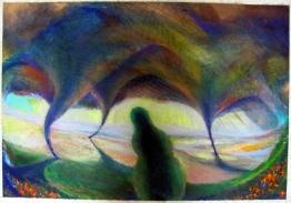 2010 - Arrival - Oil Pastel