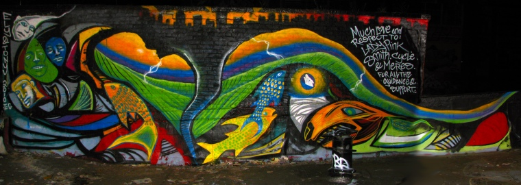 5ptz NYC - Whole Mural
