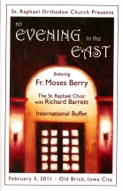 Evening In The East - Program (Cover) - Feb.2011