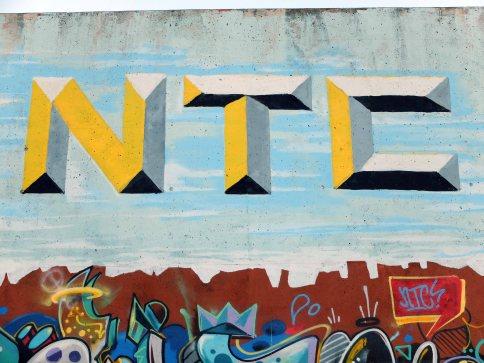 NTC block letter bevel