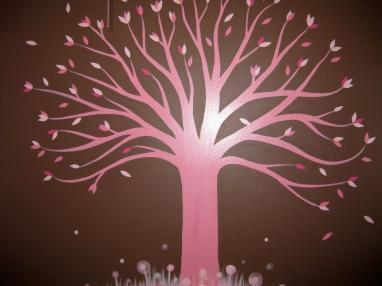 2010 - Pink Tree Mural 3