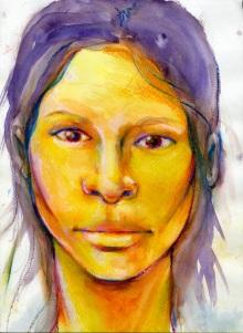 Meghan (Yellow & Purple)