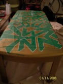 2007 - I Am The Way Table 2 (With Clear Coat Varnish)