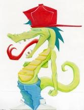 Smaug Icefyre the Dragon
