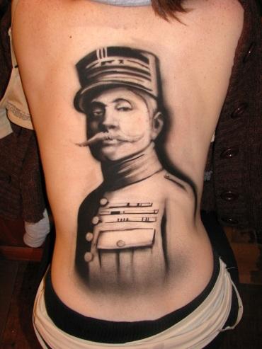 Abbey Tattoo Close Up