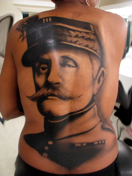 Tattoo for Show # 2 - Jen H. - Airbrushed Makeup