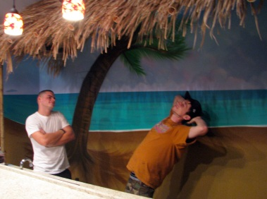 Beach Mural - 011 - The Duck & Me Loungin