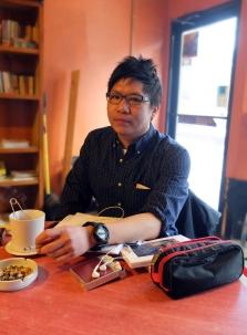 Portrait of Wiu Liam (Poet)